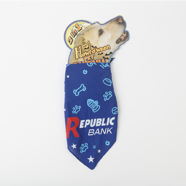 Custom Reversible Dog Bandana Scarf