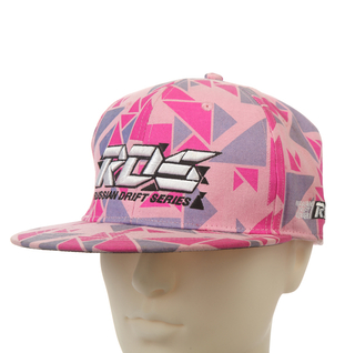 Pink Sublimation Printing 3D Embroidery Cotton Baseball cap