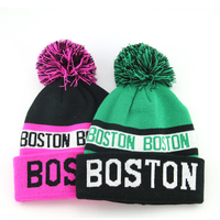 colorful custom high quality cheap beanie hat