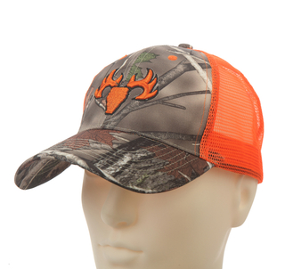 Camo Embroidery Mesh Cotton Baseball cap for Summer